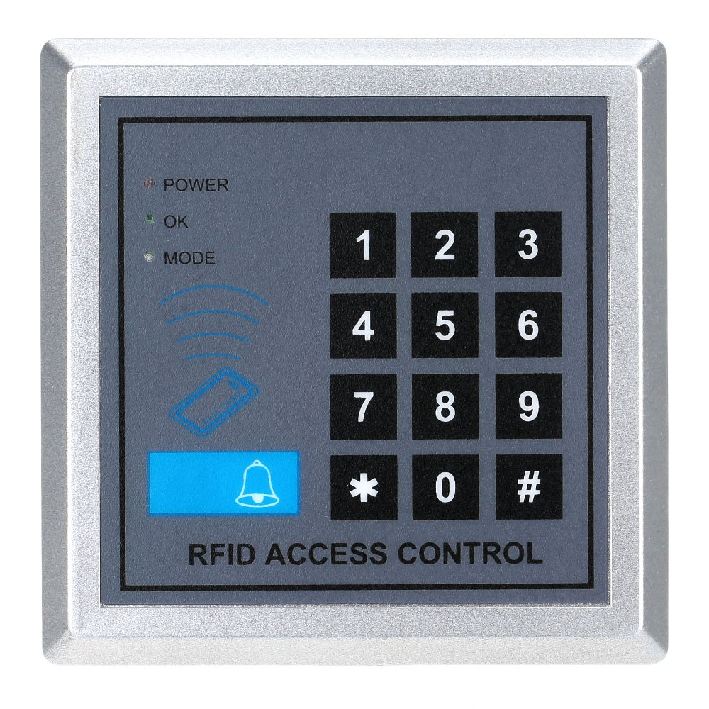 Electronic RFID Proximity Entry Door Lock Access Control System with 10 Key Fobs Home Offices Security System(China (Mainland))