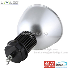 DHL free shipping 100w led bay light bulbs UL USA technology 2pcs/lot dust proof housing led 110V 120V 220V 230V 240V bridgelux(China (Mainland))