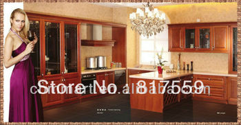 kitchen cabinet with island wood kitchen antique luxury kitchens 0410-DS001
