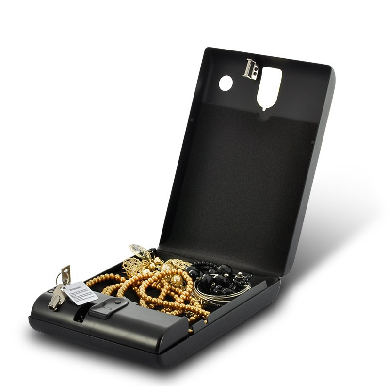 Fingerprint Biometric Safe Case - Metal Design which is Suitable for Valuables(China (Mainland))