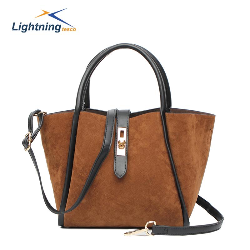 2015 New Brand Bag Composite Bag Fashion Women Leather Handbags bolsa feminina Shoulder Bag High Quality PU Desigual Bags HB158F(China (Mainland))