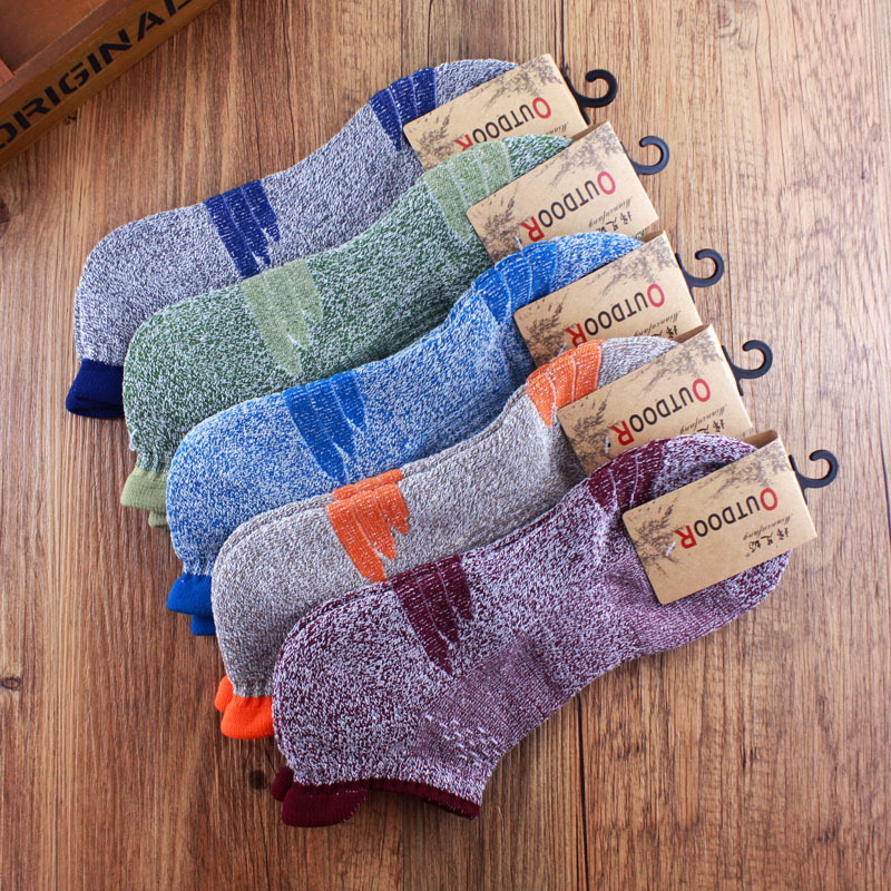2017 Spring Breathable combed Cotton Casual Men ankle socks high quality Brand man Sporting socks size 40-45, 10pcs=5pairs/lot(China (Mainland))