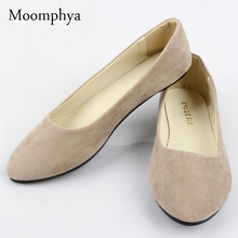 With box Free shipping fur Upgrade qualit Women's Ballets Flats shoes fake suede ladies ballet shoe casual mother shoes C3(China (Mainland))