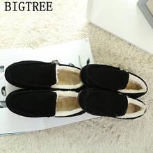 Düz çizmeler kar botları kadın kış ayakkabı kadın pembe çizmeler bayanlar rahat ayakkabılar siyah daireler chaussures femme botines mujer sapatos(China)