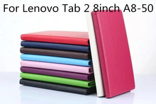Buy 30Pcs/lot Lenovo Tab 2 A8 PU Leather Stand Cover Stylus Holder Lenovo Tab2 A8-50 8-Inch Android Tablet for $118.00 in AliExpress store