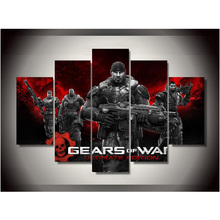 Canvas Printings Gears of War Ultimate Edition Painting Wall Art Home Decoration Poster Canvas Unframed Free shipping