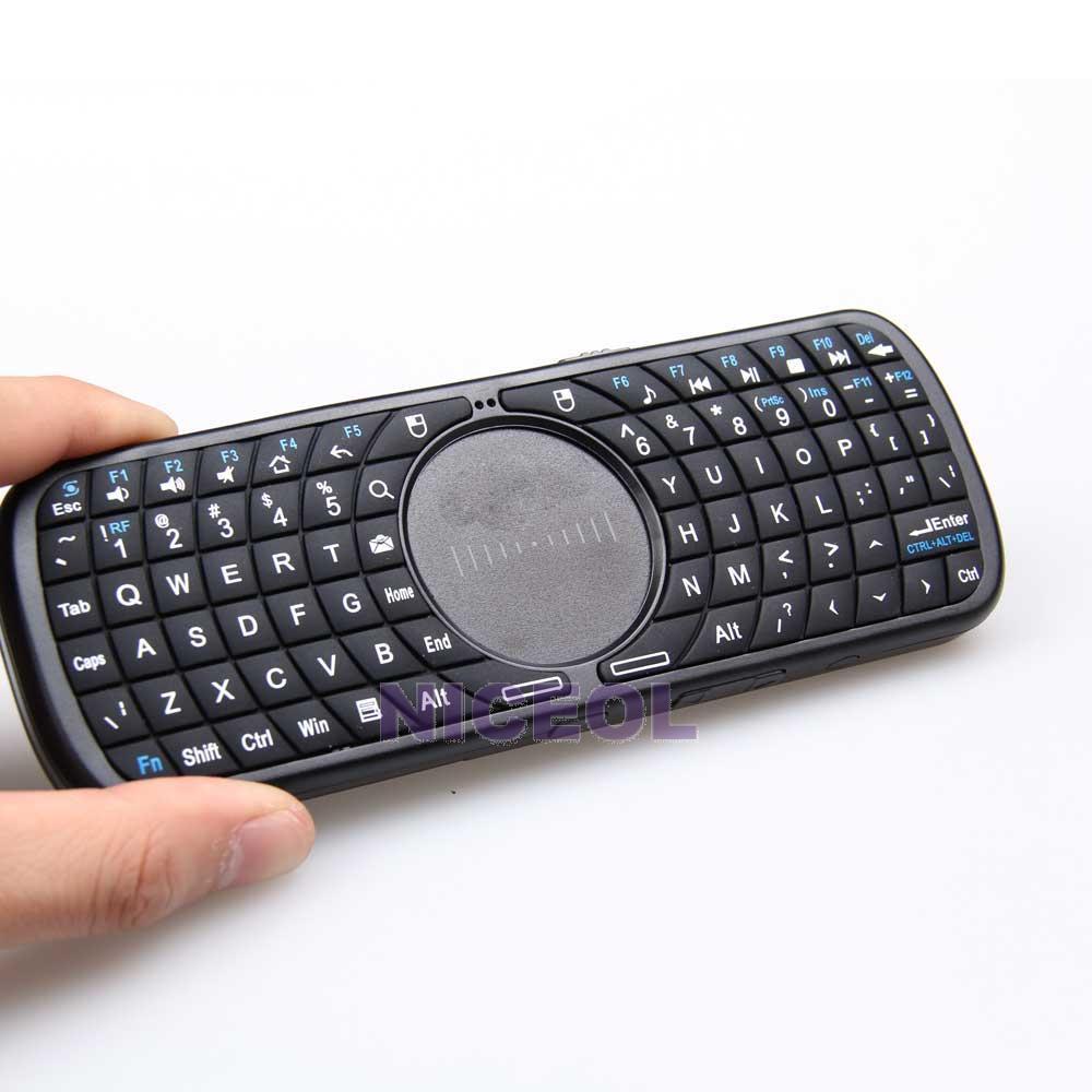 NI5L 2.4G Mini Wireless Bluetooth Keyboard Touchpad for Google Android Smart TV(China (Mainland))