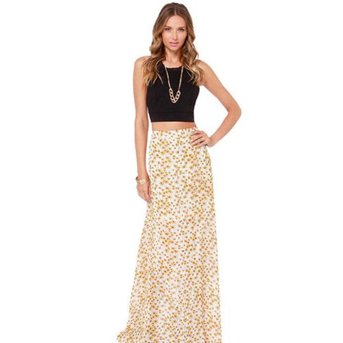 Very Long Skirts - Dress Ala