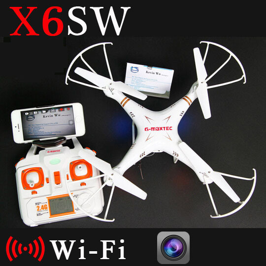 X6sw WIFI Fpv Toys Camera rc helicopter drone quadcopter gopro professional drones with camera VS X5SW X600 Drone Original Box