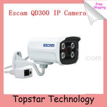 2014 Newest  Escam QD300 Mini IP Camera Onvif 720P IR Bullet H.264 1/4 CMOS 3.6mm fixed Lens Night Vision P2P 1.0 MP HD Network