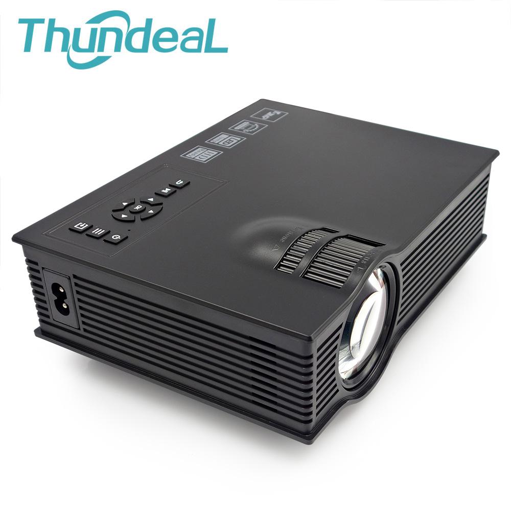 UC40 Projector 800lumens Mini Pico Projectors portable Beamer Proyector Projektor Projection Project AV USB SD HDMI(China (Mainland))