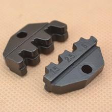 crimping plier mould crimping dies matrix for 2.8 4.3  6.3mm terminals(China (Mainland))