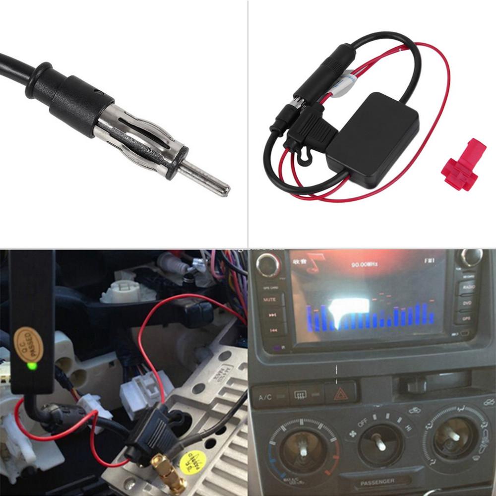 Amplificador de sinal de antena para carro cod ss99 r - Amplificador de antena ...