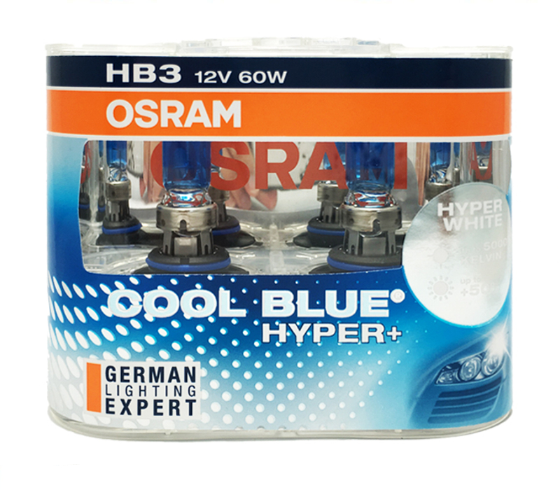 OSRAM Cool Blue Hyper+ HB3 9005 5000K 69005CBH+ fit for MG Front Fog Lamp(China (Mainland))