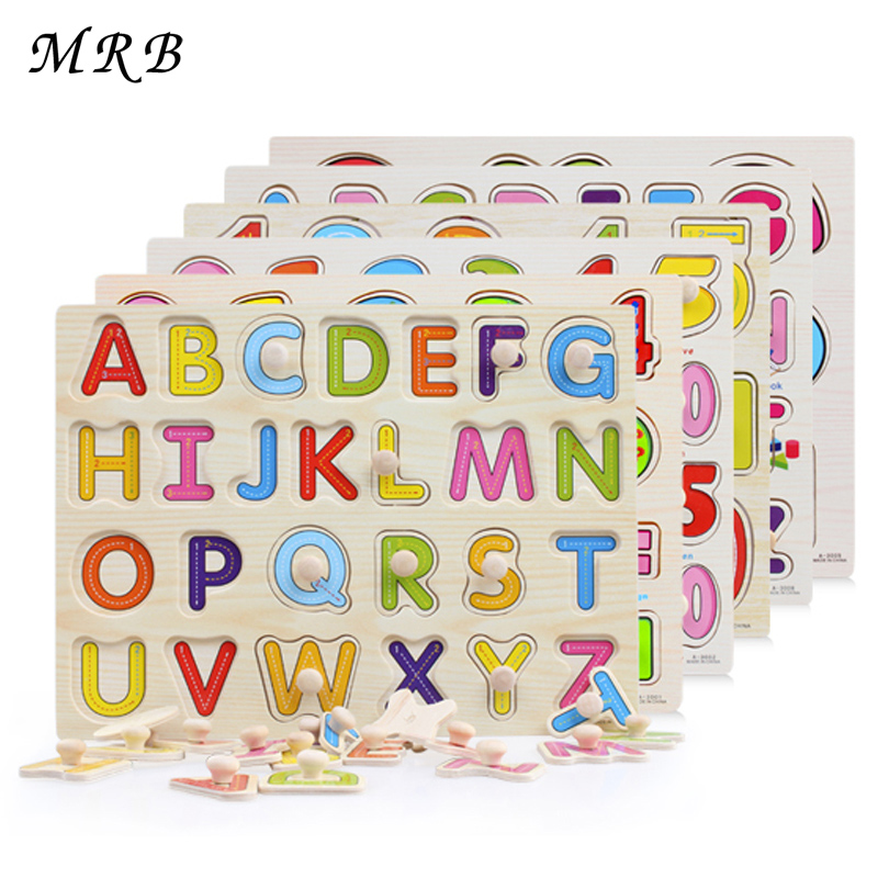 Wooden Hand Grasp Learning Cognitive Puzzle Puzzle Education Wooden toys for Boys and Girls Montessori Children Gifts stickers(China (Mainland))