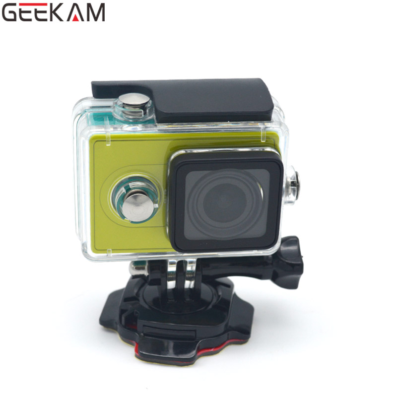 GEEKAM Go Pro Accessories Mount Lock Helmet 360 Degrees Rotation With 3M Sticker Curved Base For Gopro 3 3+ 4 Camera Wholesale<br><br>Aliexpress