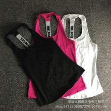 Women Gym Sports Sleeveless Shirts Tank Tops Vest Fitness Running Clothes Loose Quick Dry Tank Tops Singlets(China (Mainland))