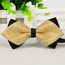 New 2015 Formal Commercial High Quality Bow Tie Fashion Men Business Casual Bowties for Boys Accessories