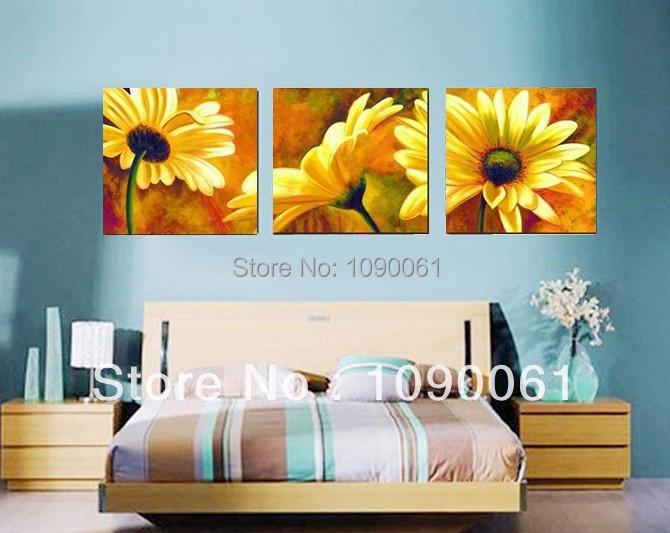 Imagenes de flores para hacer cuadros imagui for Pinturas para salas modernas