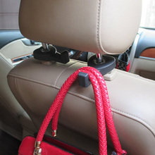 2Pcs Universal Car Back Seat Hook Hanger for Bag Coat Purse Organizer Holder LY353(China (Mainland))