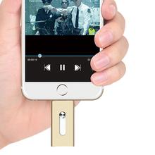 Мощность диск i — usb-драйвера HD у — член 64 г usb флэш-накопитель для iPhone iPad MAC / PC IOS световое перо привод
