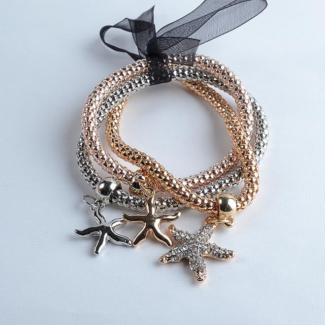 Three Layer Bracelet