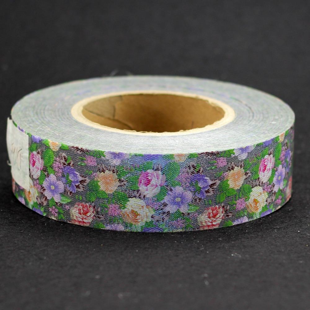 500m*4cm Nail Art Transfer Foil Roll Elegant Flowers Shaped Nail Art Beauty Stickers Tip Decorations Wholesale Retail D165<br><br>Aliexpress