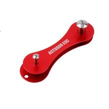 KeySmart Key Organizer Holder Case Compact Keychain Hard oxide aluminum Free Shipping