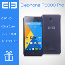 Elephone P6000 Pro MTK6753 64bit Octa Core Smartphone Android 5.1 5 inch 720p 4G lte dual sim phone 2GB/3GB 16GB 13MP Camera(China (Mainland))