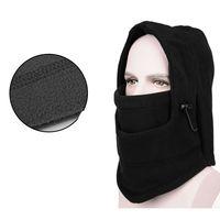 HOT winter hat fleece protected face mask ski gorros CS outdoor riding sport snowboard Motorcycle Neck Helmet cap