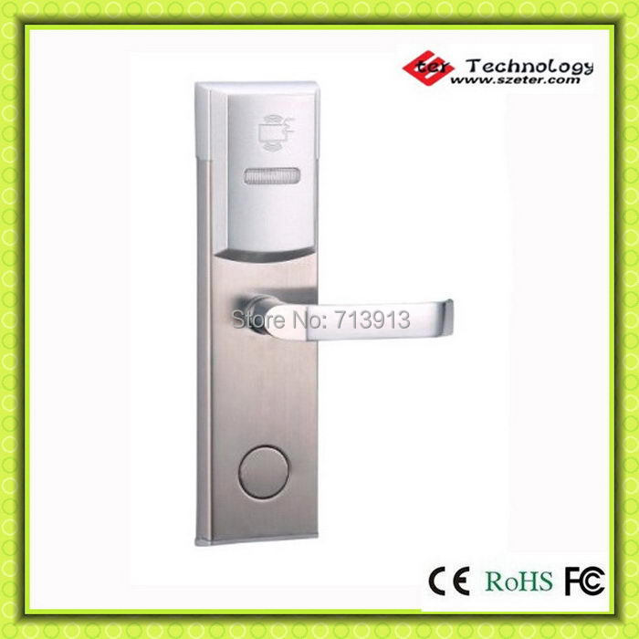 Eter hotel card door lock access control with rfid card for 106 door cards