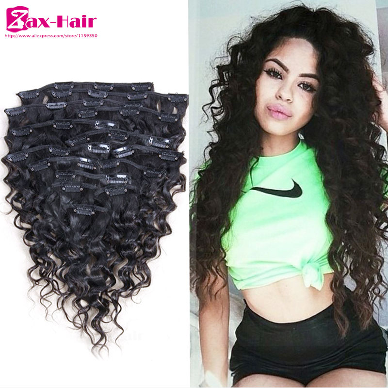 Clip On Hair Extensions For Black Hair 76