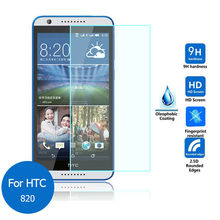 2.5 9h Защитное закалённое стекло 0.3мм для HTC Desire 820 A51 D820U D820T D820n 5.5″