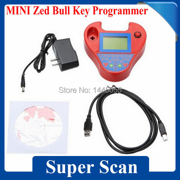 Best Price Smart Zed Bull Auto Key Programmer Zed-Bull Transponder No Tokens No Key Need Free Shipping(China (Mainland))
