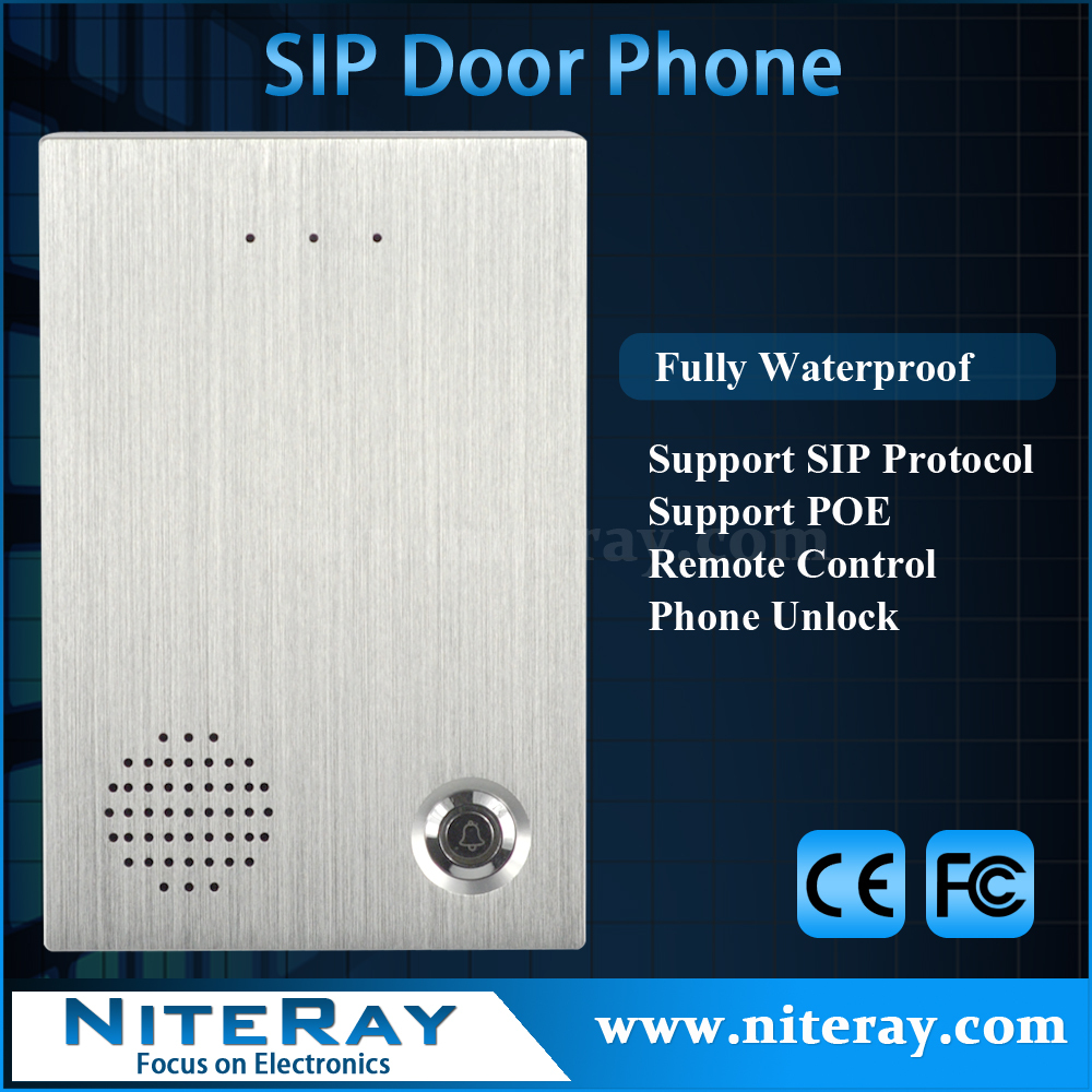 IP Intercom Doorphone Control Electronic Gate For Office, Apartment etc<br><br>Aliexpress