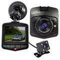 Original Novatek Dash Cam GT300 Dual Lens Car DVRs Camera Full HD 1080P Video Registrar With