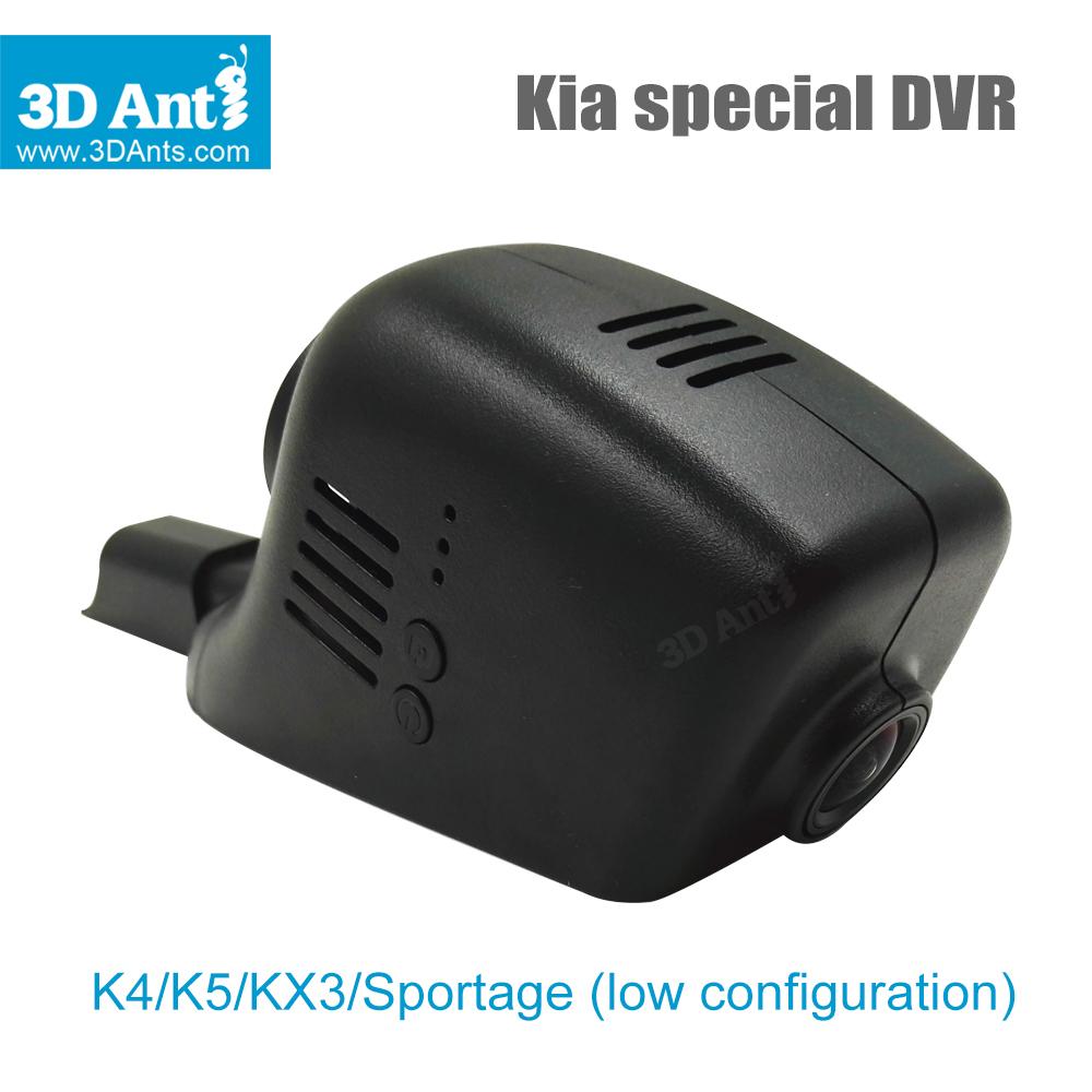 Новый автомобильный видеорегистратор для Kia K4 K5 KX3 Sportage конфигурации 1080 P 170 камеры черный встроенный wi-fi APP доля видео