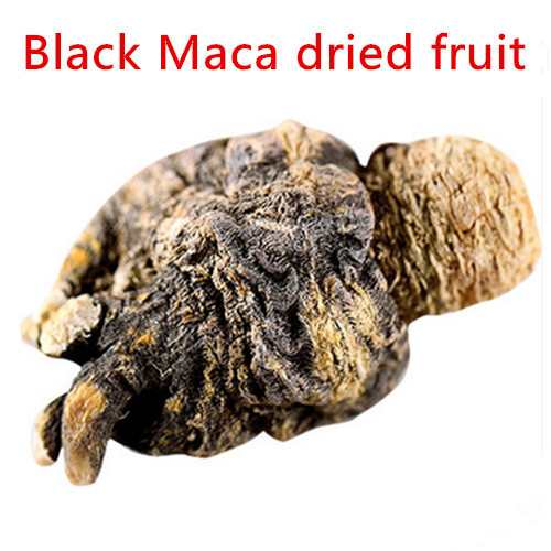 Free shipping Authentic Peru Black Maca dried fruit 300g