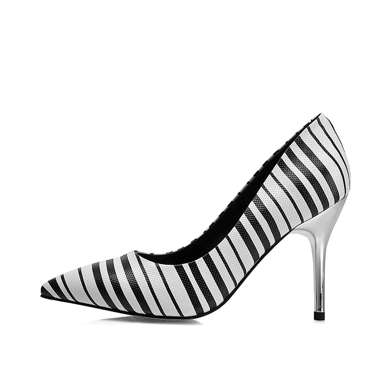women Pumps fashion shoes with color marking shoes(China (Mainland))