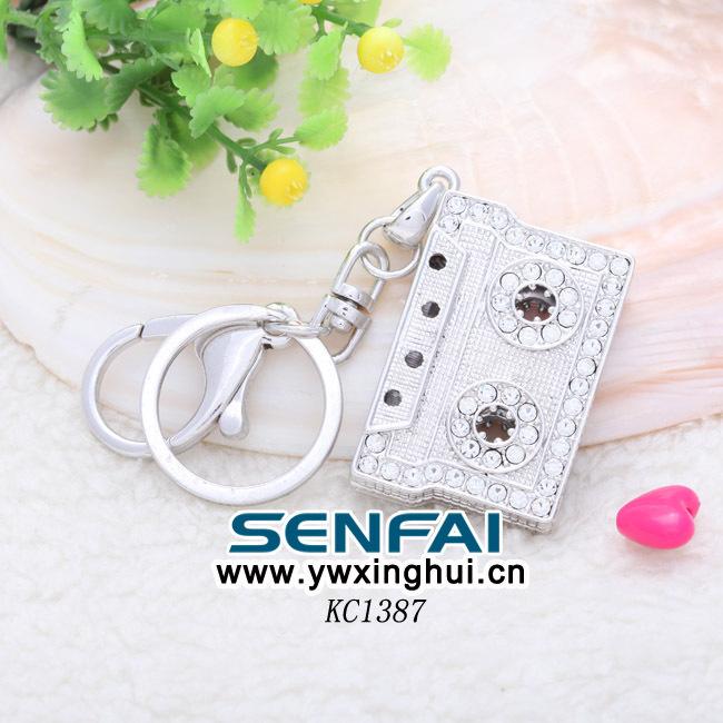 Classic 3D Simulation Model Camera Keychain Key Chain Ring Keyring Keyfob(China (Mainland))