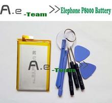 Высокое качество 100 Оригинал Для Elephone P8000 Аккумулятор Новый 4165 мАч Литий Ионный Аккумулятор Для elephone