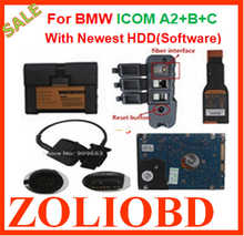 Lowest price V2016.07 for BMW ICOM A2 B C Diagnostic & Programming with HDD Super Version icom a2 support the newly cars ON SALE(China (Mainland))