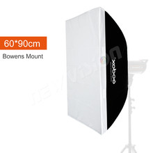 "Buy Godox 24""x 35"" 60cm*90cm Speedlite Studio Strobe Flash Photo Reflective Softbox Diffuser Bowens Mount for $35.13 in AliExpress store"