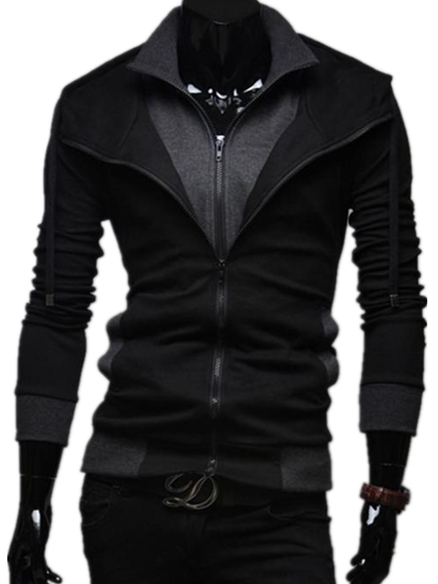 Men S Fashionable Zipper Hoodies