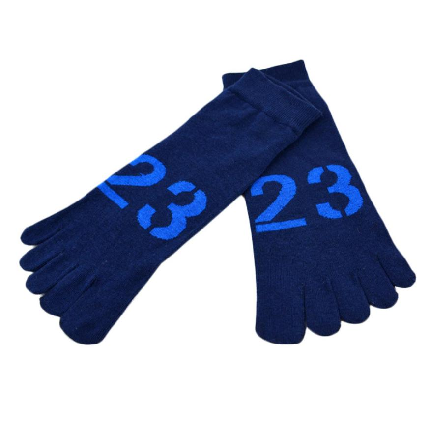 Best seller Free Shipping Men Fashion Deodorization Cotton Five Finger Toe Socks Gift for your Honey Feb7(China (Mainland))