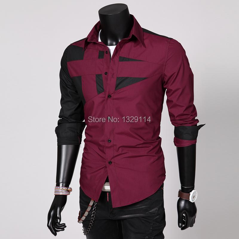 Mens Italian Shirts Contrast Shirt For Men