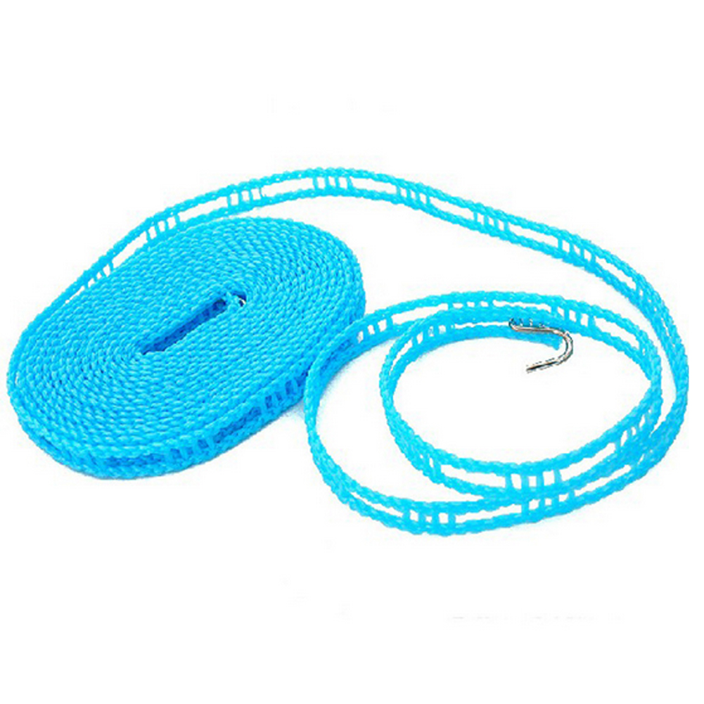 Color Random 3m 1pcs Travel Slip Proof Line Sun Quilt Cool Clothes Drying Rope Hanging Rope Portable Wind Proof Hotel Room(China (Mainland))