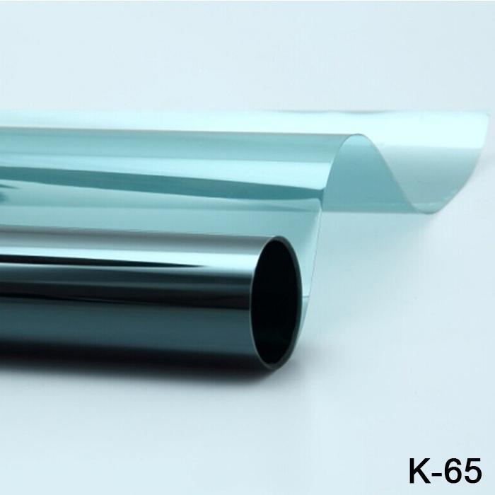 K-65 High Quality 1.52*30M Anti-UV Windows Tint Film Electric Tinting Film High Definition High Heat Insulation Car Solar Film(China (Mainland))