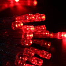 New Hotsale Best Price In Aliexpress promotion 40-LEDs 13 Feet Battery Operated Christmas Wedding String Lights -Red