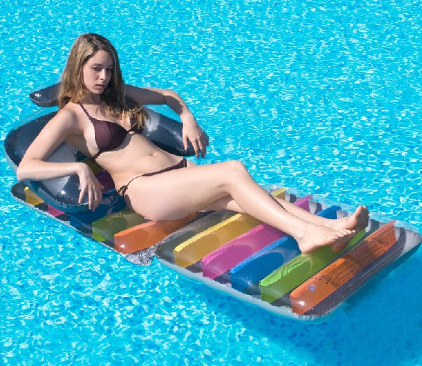 Buy 180cm Inflatable Pizza Water Floats Swimming Pool Air
